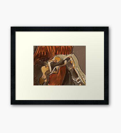 anthro Framed Print