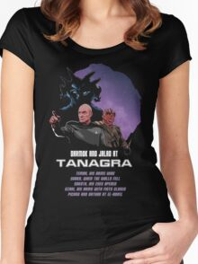Darmok and Jalad at Tanagra Women's Fitted Scoop T-Shirt