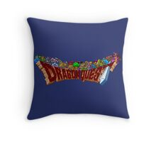 Dragon Quest (SNES) Enemies Throw Pillow