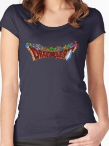 Dragon Quest (SNES) Enemies Women's Fitted Scoop T-Shirt