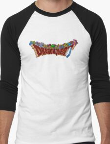 Dragon Quest (SNES) Enemies Men's Baseball ¾ T-Shirt