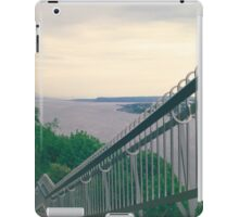 Evening Walk along the St. Lawrence River iPad Case/Skin