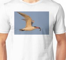 Royal Tern with Fish Unisex T-Shirt