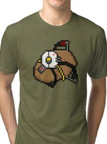 Pixel PotatOS Tri-blend T-Shirt