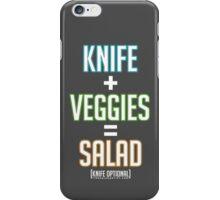 Salad Math iPhone Case/Skin