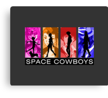 Cowboys in Space Canvas Print