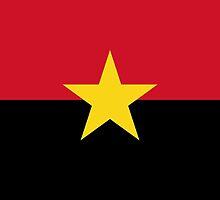 MPLA Flag of Angola by abbeyz71
