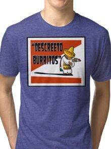 Clerks: Animated Series - Descreeto Burrito (SD) v2 Tri-blend T-Shirt