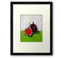 Figs in the Hall Framed Print