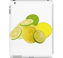 When life hands you lemons and limes... iPad Case/Skin