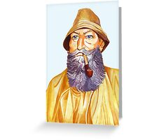 The Old Sailor Greeting Card