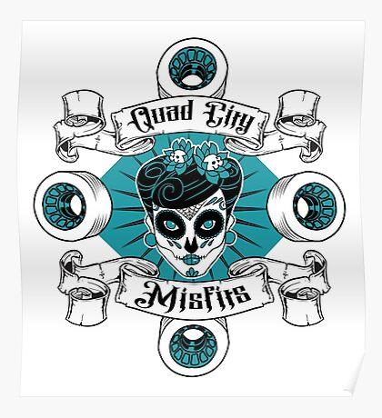 Quad City Misfits Poster