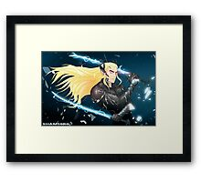 Elf Gear Rising: Thranduil's Revengeance  Framed Print