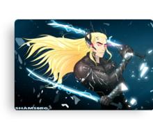 Elf Gear Rising: Thranduil's Revengeance  Canvas Print
