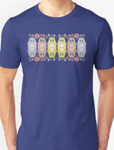CATS, FLOWERS & BAUBLES Unisex T-Shirt