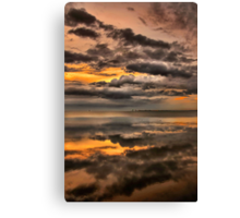 Ominous Dawn Canvas Print
