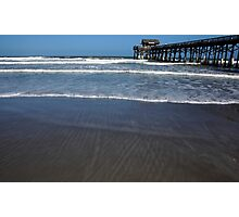 Lines In The Sand Photographic Print