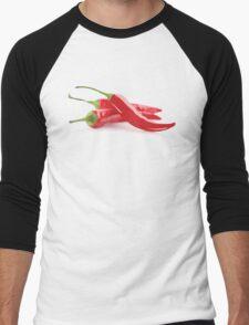 This Chili's Hot, Hot, Hot! Men's Baseball ¾ T-Shirt