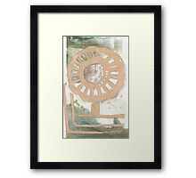 Flower Wheel 2 Framed Print