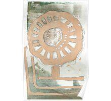 Flower Wheel 2 Poster