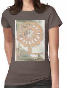 Flower Wheel 2 Womens Fitted T-Shirt