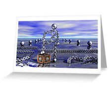 Where Is The Chain Gang? Greeting Card