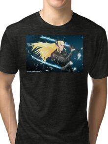 Elf Gear Rising: Thranduil's Revengeance  Tri-blend T-Shirt