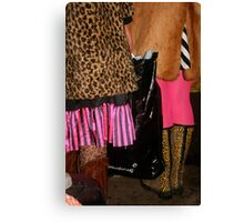 I'll wear that if you wear this... Canvas Print