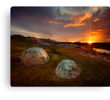 D-Rocks Canvas Print