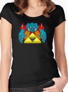 """Ganon's Triforce"" Women's Fitted Scoop T-Shirt"