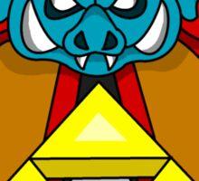 """""""Ganon's Triforce"""" Sticker"""