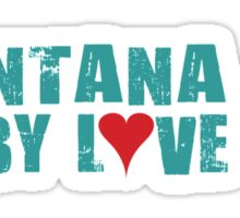 Montana Derby Love Sticker