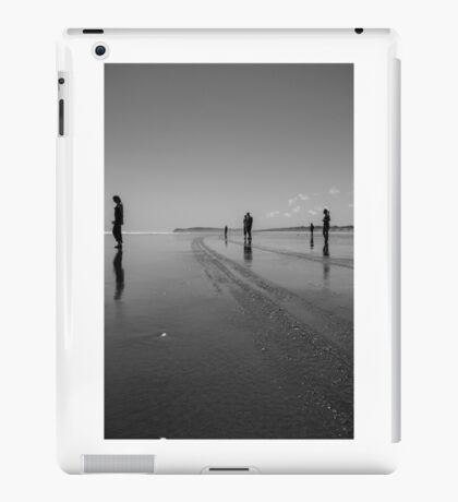 Silhouettes on the Sand iPad Case/Skin