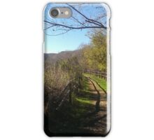 Mountain Valley Road iPhone Case/Skin