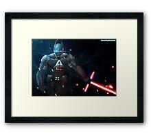 Arkham Knight: The Force Awakens  Framed Print