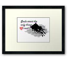 Dementor Love Framed Print