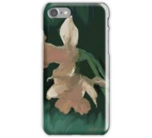 TWO DAFFODILS 1 iPhone Case/Skin