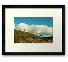 St. Catherine's Hill Framed Print