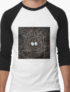 Blue eggs - Western Australia Men's Baseball ¾ T-Shirt