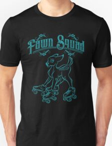 Fawn Squad - teal Unisex T-Shirt