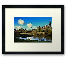 River Itchin, Nr. Tun Bridge Framed Print