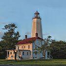 Sandy Hook Lighthouse, NJ by Judy Clark