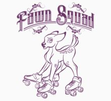 Fawn Squad - purple Kids Clothes
