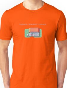 Home, Sweet Home (Fire Red) Unisex T-Shirt