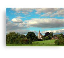 Twyford St Mary Church Canvas Print
