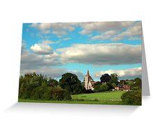 Twyford St Mary Church Greeting Card