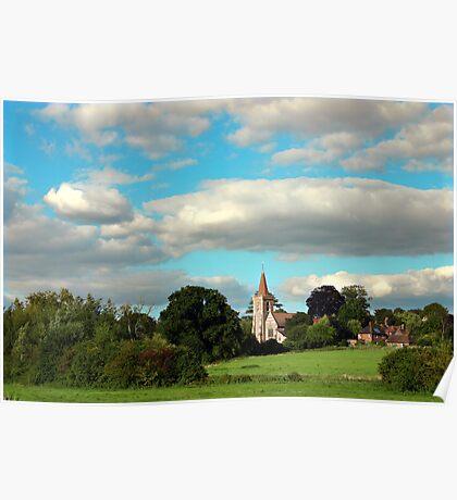 Twyford St Mary Church Poster