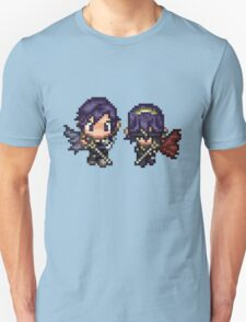 Pixel Chrom and Lucina (Marth) - Fire Emblem : Awakening T-Shirt