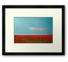 Well House Farm, Headbourne Worthy Framed Print