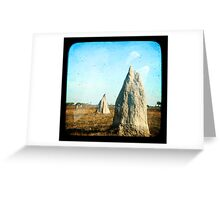 Termite Homes Greeting Card